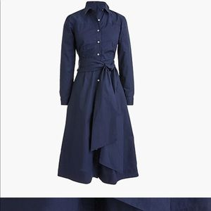 2018 J. Crew Tie-waist Shirtdress